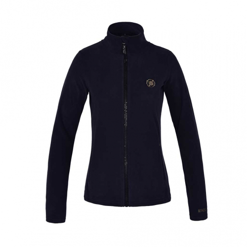 KLANIAK LADIES MICRO FLEECE JACKET KINGSLAND NAVY i gruppen Ryttare / Överdelar / Fleece hos Charlies Häst (1002278430)