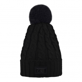 CHAP LADIES KNITTED HAT KINGSLAND ONESIZE BLACK