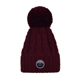 IROQUOIS LADIES KNITTED HAT KINGSLAND ONESIZE RED PORT ROYAL