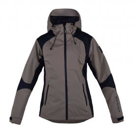 ALAMO UNISEX WATERPROOF JACKET KINGSLAND BEIGE ROASTED CASHEW