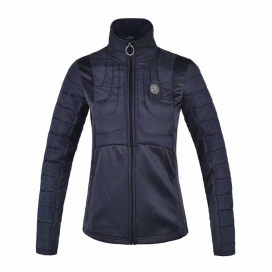 KLDOROTHY LADIES PADDED FLEECE JACKET KINGSLAND NAVY
