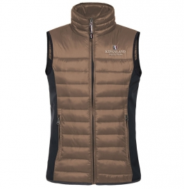 UNISEX BODY WARMER KINGSLAND BROWN IRON