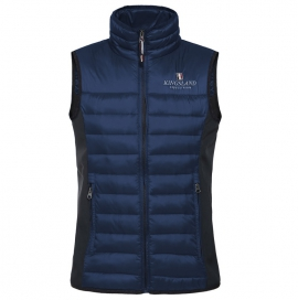 UNISEX BODY WARMER KINGSLAND BLUE DEPTHS