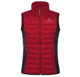 UNISEX BODY WARMER KINGSLAND RED TANGO