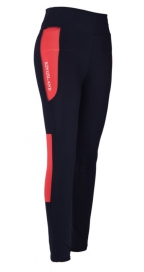 KARINA W F-TEC K-GRIP COMP TIGHTS KINGSLAND RED HIBISCUS