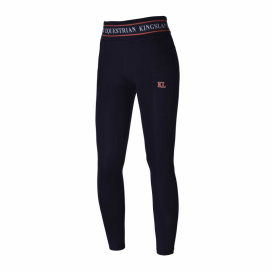 KLKARINA W F-TEC F-GRIP COMP TIGHTS KINGSLAND CORAL