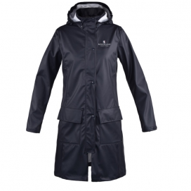 ROCHELLE LADIES RAIN COAT KINGSLAND NAVY