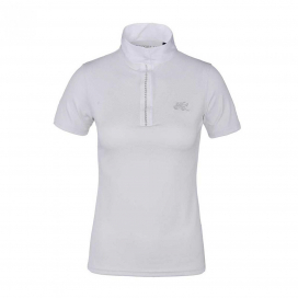 KLANTHEA LADIES SS SHOW SHIRT KINGSLAND WHITE