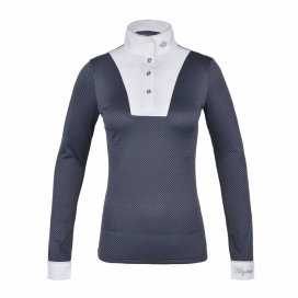 KLINA LADIES SHOW SHIRT BLUE NIGHT