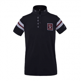 FUENGIROLA JUNIOR TEC PIQUE POLO SHIRT KINGSLAND NAVY