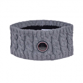 SAANICH LADIES KNITTED HEADBAND KINGSLAND ONESIZE LIGHT GREY