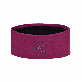 NANAIMO LADIES KNITTED BAND KINGSLAND ONESIZE PINK MAGENTA HAZE