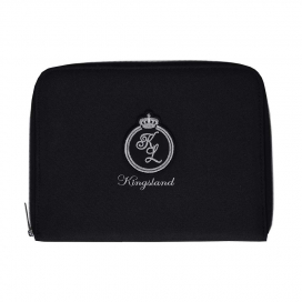 SAINT PERIE PASSPORT COVER KINGSLAND BLACK