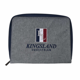 KLTALON PASSPORT COVER KINGSLAND GRÅ