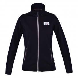 AYNOR LADIES FLEECE JACKET KINGSLAND NAVY