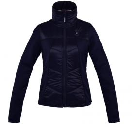 FOLLY LADIES FLEECE JACKET KINGSLAND NAVY