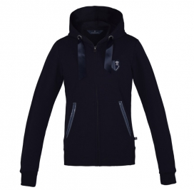MAIA LADIES SWEAT JACKET KINGSLAND NAVY