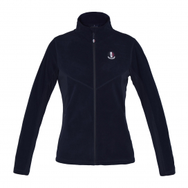 PAIGE LADIES MICRO FLEECE JACKET KINGSLAND NAVY