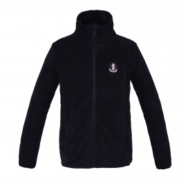 SNAP JUNIOR CORAL FLEECE JACKET KINGSLAND NAVY