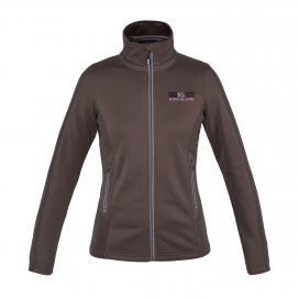 PHILIPA LADIES FLEECE JACKET KINGSLAND BROWN CHOCOLATE CHIP