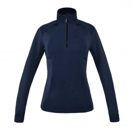 MELODY LADIES 1/2 ZIP MICRO FLEECE KINGSLAND NAVY