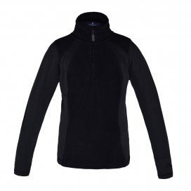 MICHELLE GIRLS 1/2 ZIP JUMPER KINGSLAND BLACK