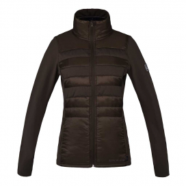 YECLA LADIES FLEECE JACKET KINGSLAND BROWN CANTEEN
