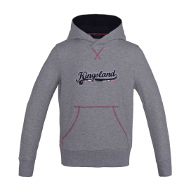 CONTES GIRLS SWEAT HOODIE KINGSLAND LIGHT GREY MELANGE