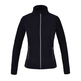 HAZEL LADIES MICRO FLEECE JACKET KINGSLAND SVART