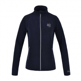 HAZEL LADIES MICRO FLEECE JACKET KINGSLAND NAVY