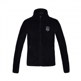 KEEGO JUNIOR CORAL FLEECE JACKET KINGSLAND NAVY