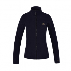 KLANIAK LADIES MICRO FLEECE JACKET KINGSLAND NAVY