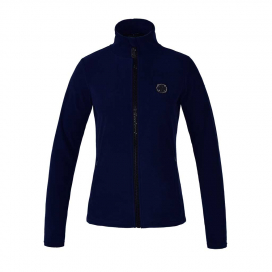KLANIAK LADIES MICRO FLEECE JACKET KINGSLAND BLUE MARTITIME