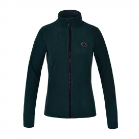 KLANIAK LADIES MICRO FLEECE JACKET KINGSLAND GREEN SCARAB