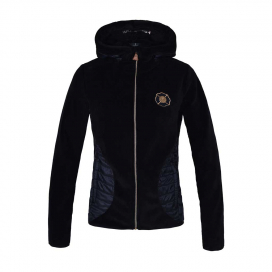 KLCHIGNIK LADIES CORAL FLEECE JACKET KINGSLAND NAVY