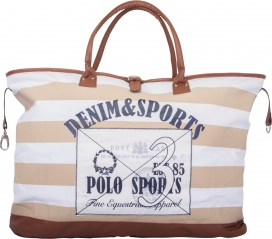KENDALL CANVAS BAG HV-POLO SAND