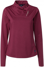 AYLA TECH TOP MOUNTAIN HORSE BURGUNDY MELANGE