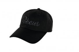 COTTON CAP PIKEUR ONESIZE BLACK