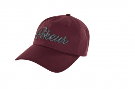 COTTON CAP PIKEUR ONESIZE BORDEAUX