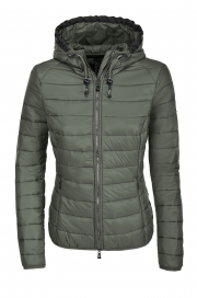 JEAN LIGHTWEIGHT QUILTED JACKET PIKEUR LAUREL GREEN