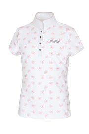 FILLY GIRLS COMPETITION SHIRT PIKEUR WHITE