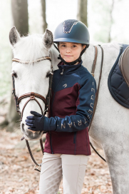 STELLA FUNCTIONAL SWEATER JUNIOR JACSON BURGUNDY/NAVY