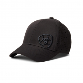 ADULT UNISEX TRI FACTOR CAP ARIAT BLACK