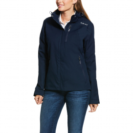 WOMENS COASTAL H2O JACKET ARIAT NAVY