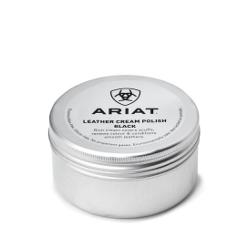 LEATHER CREAM POLISH ARIAT BLACK