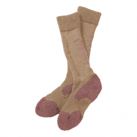 ARIATTEK ALPACA PERFORMANCE SOCKS ARIAT XS/S BEIGE/ROSE