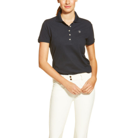 WOMENS PRIX POLO ARIAT NAVY ECLIPSE