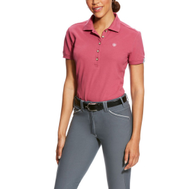 WOMENS PRIX POLO ARIAT ROSE VIOLET