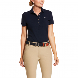 WOMENS PRIX POLO 2.0 ARIAT NAVY