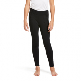 YOUTH ATTAIN FULL GRIP FODRADE TIGHTS ARIAT BLACK